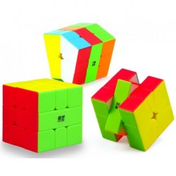Square 1 Cube stickerless QiYi SQ1 QiFa
