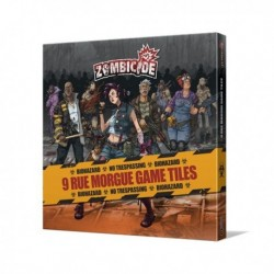 Zombicide - Rue Morgue Game Tiles