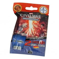 Dice Masters : Marvel - Civil War - Booster