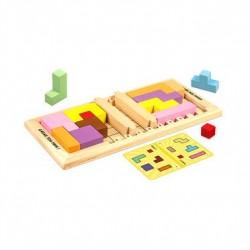 Mahjong (petit, boite bois)