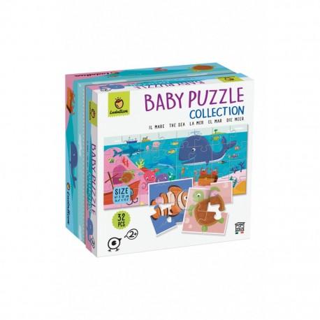 Baby Puzzle 8+1 - La mer