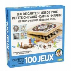 Coffret 100 jeux bois