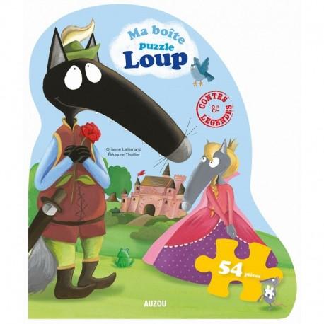 Ma boite puzzle - Loup - Contes et légendes