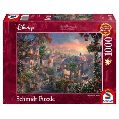 Puzzles Disney - La Belle et le Clochard