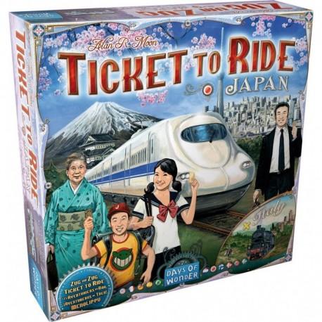 Les aventuriers du rail - Japon/Italie