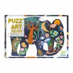 Puzz'art - Elephant