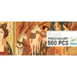 Puzzle 500 pièces Unicorn Garden