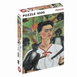 Puzzle 1000 pièces Frida Kahlo - Autoportrait