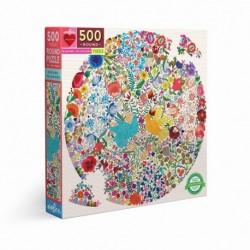 Puzzle 500 pièces Blue bird yellow bird