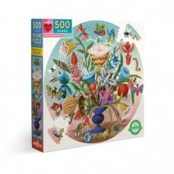 Puzzle 500 pièces Crazy bug bouquet