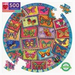 Puzzle 500 pièces Vintage butterflies