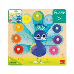Puzzle - Paon