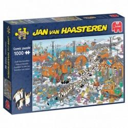 Puzzle 1000 pièces - Jan van Haasteren - Expédition au Pôle Sud