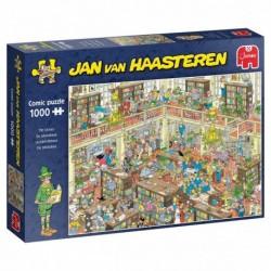 Puzzle 1000 pièces - Jan van Haasteren - La bibliothèque