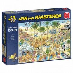 Puzzle 1500 pièces - Jan van Haasteren - L'oasis