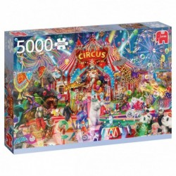 Puzzle 5000 pièces - A night at the circus