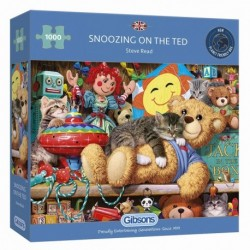 Puzzle 1000 pièces Snoozing on the Ted