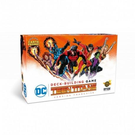 DC Comics Deck Building - Teen  Titans