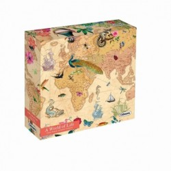 Puzzle 1000 pièces A world of life