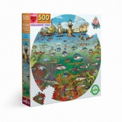 Puzzle 500 pièces Fish & boats