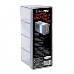 Deck box - Ultra Pro rangement 4 compartiments