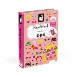 Magnéti'book Crazy faces fille