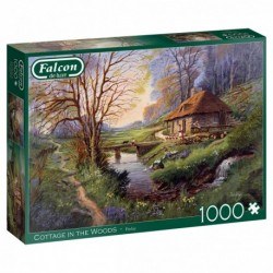 Puzzle 1000 pièces - Cottage in the woods