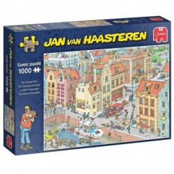 Puzzle 1000 pièces - Jan van Haasteren -  La pièce manquante