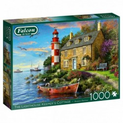 Puzzle 1000 pièces - The Lighthouse Keeper's Cottage