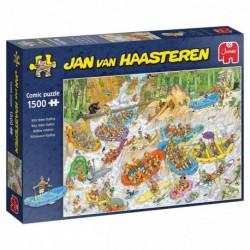 Puzzle 1500 pièces - Jan van Haasteren - Rafting extrême