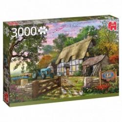Puzzle 3000 pièces - The farmer's cottage