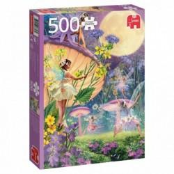 Puzzle 500 pièces - Danse des fées au crépuscule