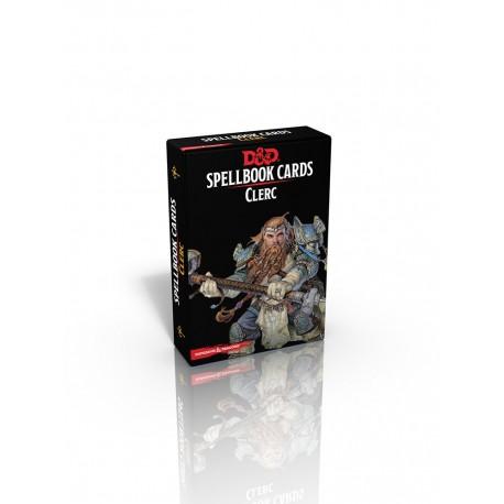 Donjons & Dragons - 5ème édition - Cartes de sorts: Clerc