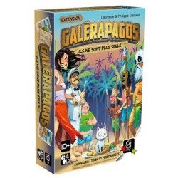 Galèrapagos - Tribu et personnages
